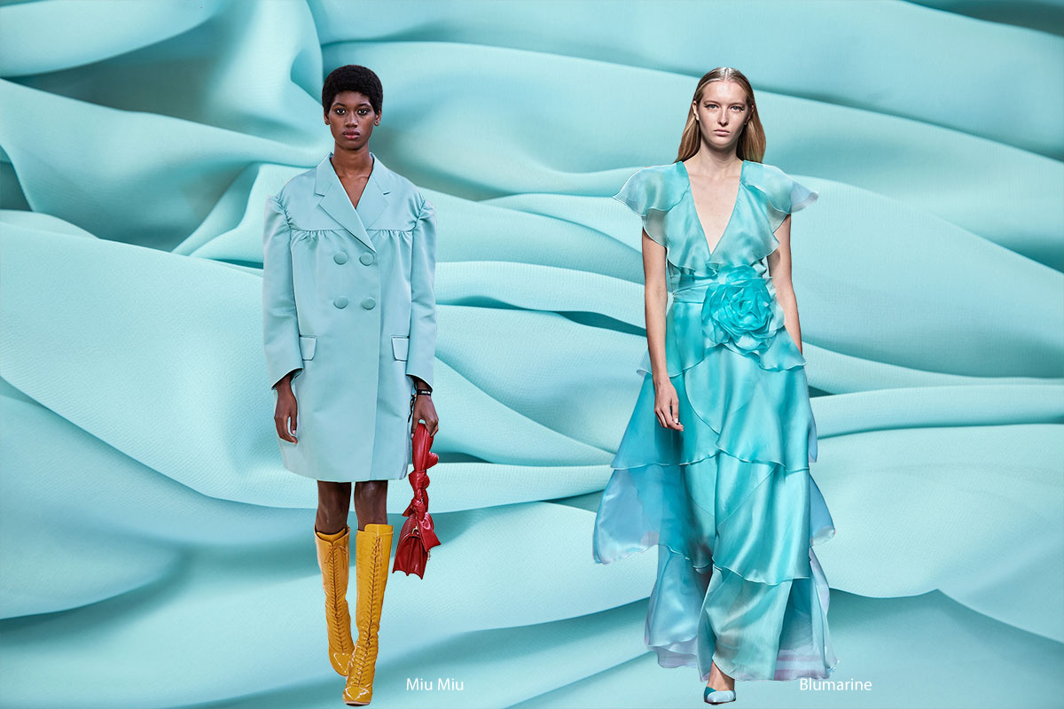 Spring 2020 Color Trends: Tanager Turquoise | new tess fabrics