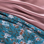 Silk floral crepe de chine fabric and crepe satin | new tess