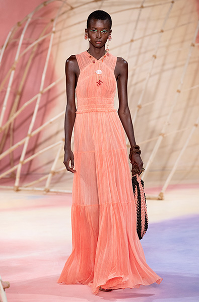 Peach Nougat - Ulla Johnson Ready-to-Wear Spring 2020