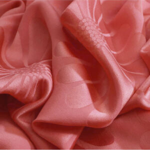 Pink Silk Flowers Plain fabric for Dress, Shirt.
