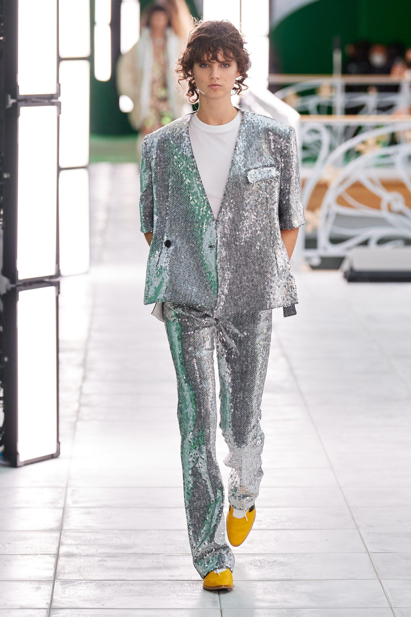 Oro e argento - Louis Vuitton Ready-to-Wear Spring 2021