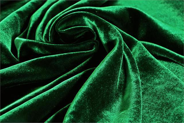 Tissu Velluto Se/Viscosa 015 Vert
