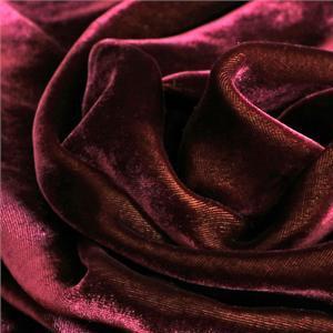 Purple Velvet fabric for Dress, Pants, Shirt, Skirt.