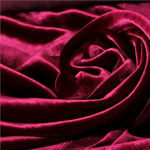 Fuxia Silk, Viscose Velvet fabric for Dress, Pants, Shirt, Skirt.