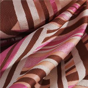 Beige, Brown, Pink Mixed Ethnic Jacquard fabric for Dress, Party dress, Shirt.