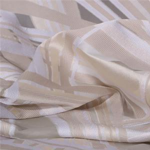 Beige, White Mixed Ethnic Jacquard fabric for Dress, Party dress, Shirt.
