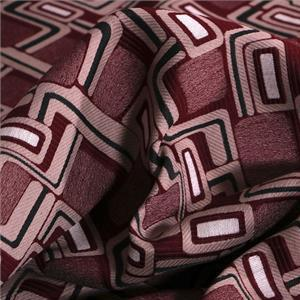 Beige, Purple, Red Mixed Geometric Jacquard fabric for Dress, Jacket.