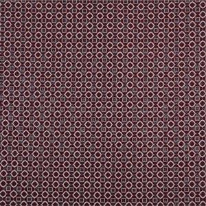 Beige, Brown Cotton-blend Woven Geometric Fabric