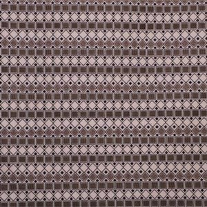 Beige, Black, White Geometrico 003-02 Fabric