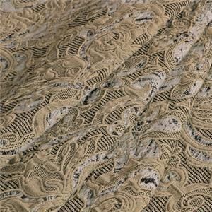 Beige Mixed Abstract Jacquard fabric for Jacket, Light Coat.