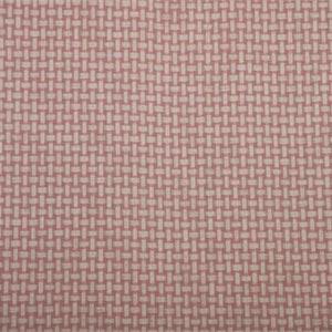 Pink, White Intreccio 000300 Weaved Wool Fabric