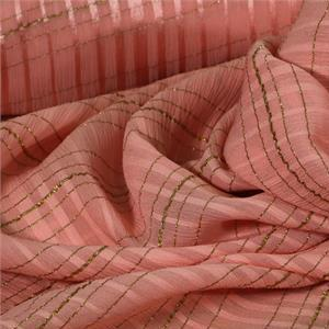 Pink Polyester, Silk fabric for Shirt.