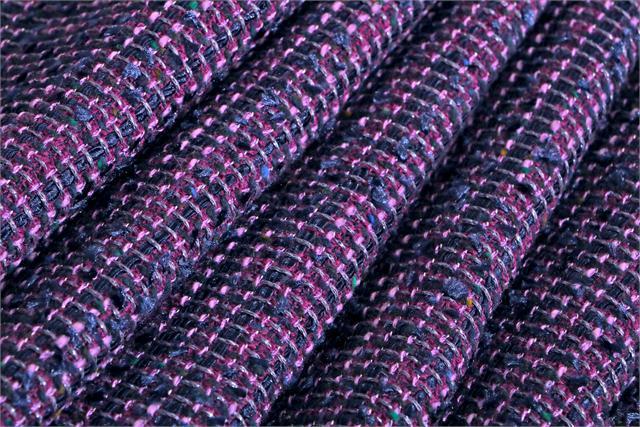 Blue, Fuxia, Multicolor Intreccio 001 Fabric