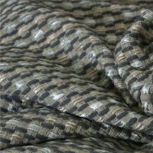 Gray Mixed Bouclé/Weave/Tweed fabric for Jacket, Skirt.