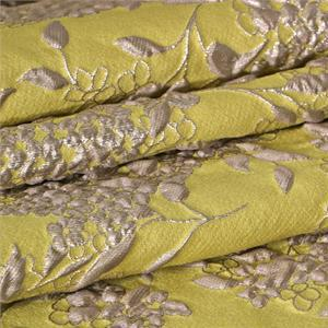 Yellow Mixed Flowers Jacquard fabric for Ceremony Dress, Dress, Jacket, Light Coat.