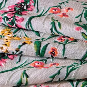 Multicolor Mixed Flowers Jacquard fabric for Ceremony Dress, Dress, Light Coat, Skirt.