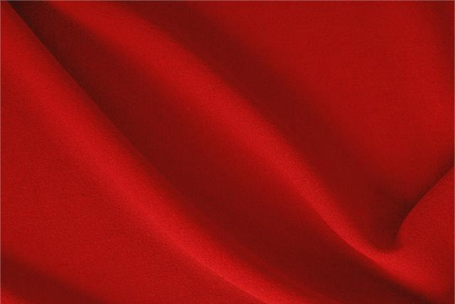 Buy online our clothing and fashion fabric 'Fuoco' Red  Wool Crêpe, Made in Italy. - new tess