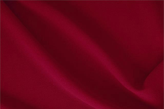 Buy online our clothing and fashion fabric 'Campari' Red  Wool Crêpe, Made in Italy. - new tess