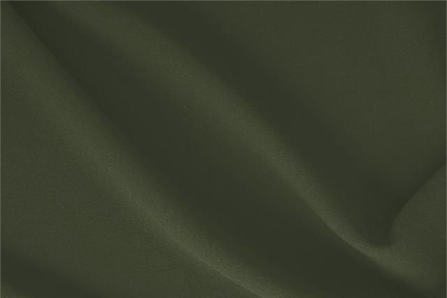 Buy online our clothing and fashion fabric 'Abete' Green  Wool Crêpe, Made in Italy. - new tess