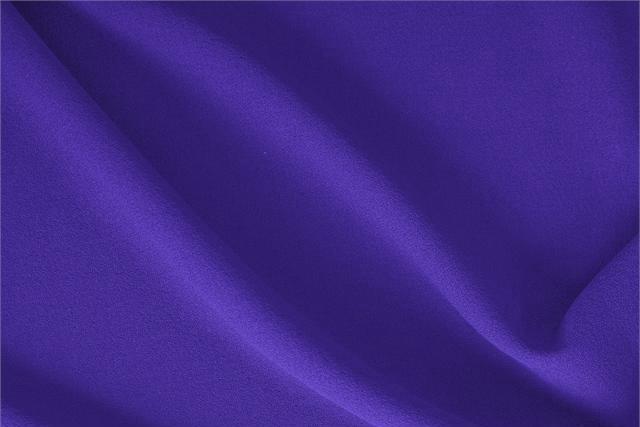 Petunia Purple Wool Wool Crêpe fabric for dressmaking