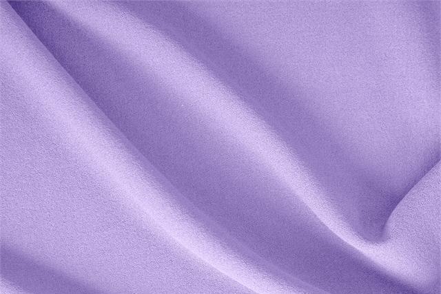 Glicine Purple Wool Wool Crêpe fabric for dressmaking