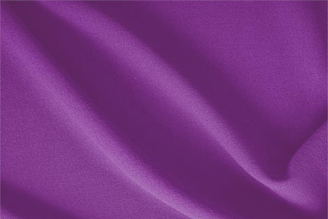 Violetta Purple Wool Wool Crêpe fabric for dressmaking