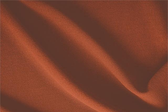 Buy online our clothing and fashion fabric 'Corallo' Brown  Wool Crêpe, Made in Italy. - new tess