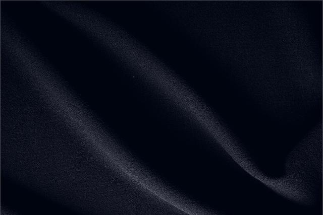 Navy Blue Wool Wool Crêpe fabric for dressmaking