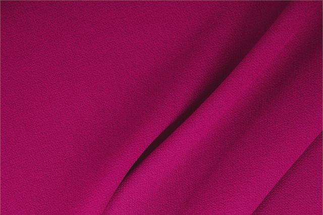 Buy online our clothing and fashion fabric 'Ciclamino' Fuxia  Wool Double Crêpe, Made in Italy. - new tess