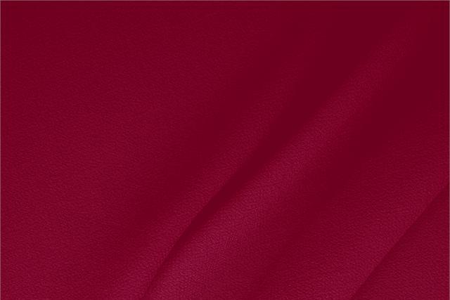 Acquista online il nostro tessuto per abbigliamento, sartoria e moda Doppia Crepella di Lana Rosso 'Rubino', Made in Italy. - new tess