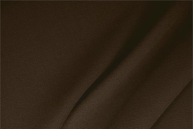 Buy online our clothing and fashion fabric 'Testa Di Moro' Brown  Wool Double Crêpe, Made in Italy. - new tess