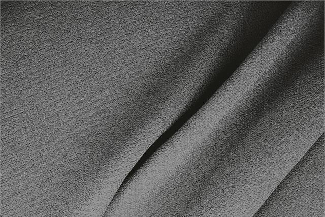 Buy online our clothing and fashion fabric 'Fumo' Gray  Wool Double Crêpe, Made in Italy. - new tess