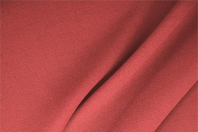 Achetez notre tissu pour habillement, haute couture et mode Double crêpe de laine Rose 'Geranio', Made in Italy. - new tess