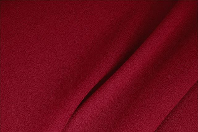 Buy online our clothing and fashion fabric 'Campari' Red  Wool Double Crêpe, Made in Italy. - new tess