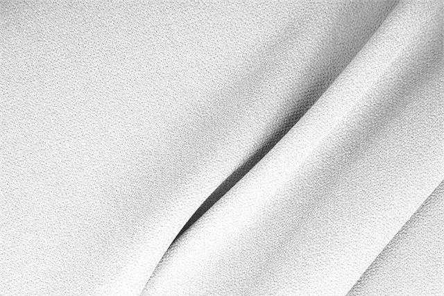 Buy online our clothing and fashion fabric 'Ottico' White  Wool Double Crêpe, Made in Italy. - new tess