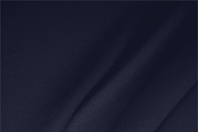 Buy online our clothing and fashion fabric 'Notte' Blue  Wool Double Crêpe, Made in Italy. - new tess
