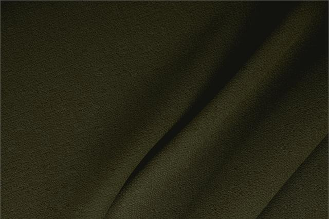 Buy online our clothing and fashion fabric 'Abete' Green  Wool Double Crêpe, Made in Italy. - new tess