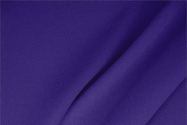 Buy online our clothing and fashion fabric 'Petunia' Purple  Wool Double Crêpe, Made in Italy. - new tess