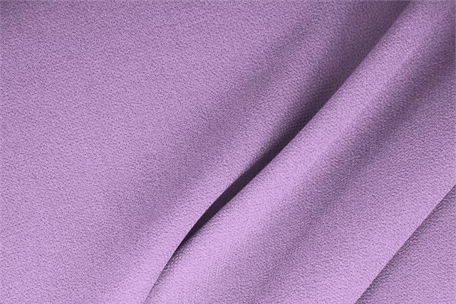 Buy online our clothing and fashion fabric 'Glicine' Purple  Wool Double Crêpe, Made in Italy. - new tess