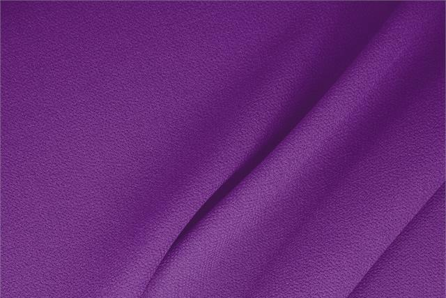 Buy online our clothing and fashion fabric 'Violetta' Purple  Wool Double Crêpe, Made in Italy. - new tess