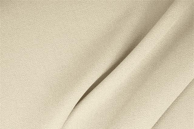 Buy online our clothing and fashion fabric 'Latte' White  Wool Double Crêpe, Made in Italy. - new tess