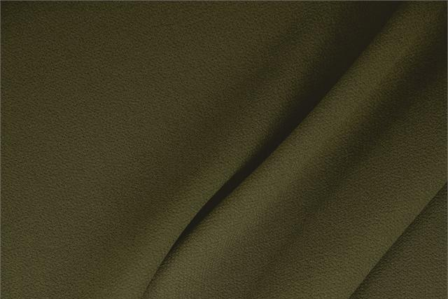 Buy online our clothing and fashion fabric 'Militare' Green  Wool Double Crêpe, Made in Italy. - new tess