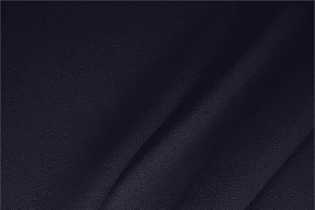 Buy online our clothing and fashion fabric 'Navy' Blue  Wool Double Crêpe, Made in Italy. - new tess