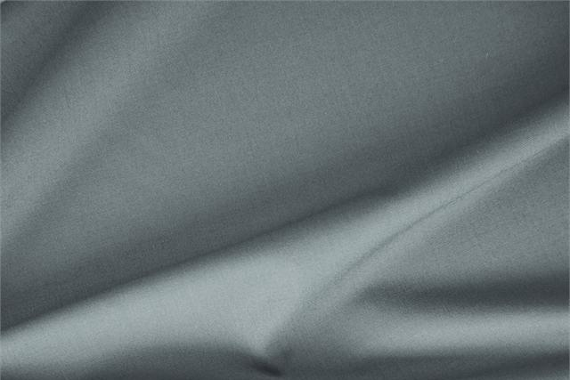 Buy online our clothing and fashion fabric 'Lichene' Gray Stretch, Wool Gabardine Stretch, Made in Italy. - new tess