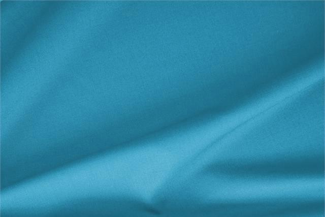 Buy online our clothing and fashion fabric 'Turchese' Blue Stretch, Wool Gabardine Stretch, Made in Italy. - new tess