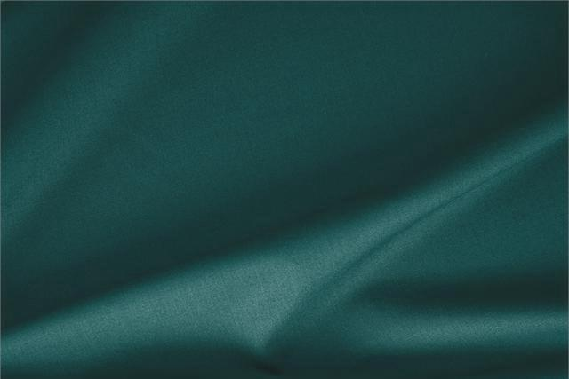 Buy online our clothing and fashion fabric 'Pavone' Blue Stretch, Wool Gabardine Stretch, Made in Italy. - new tess