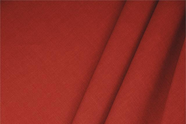 Buy online our clothing and fashion fabric 'Scarlatto' Red  Linen Blend, Made in Italy. - new tess
