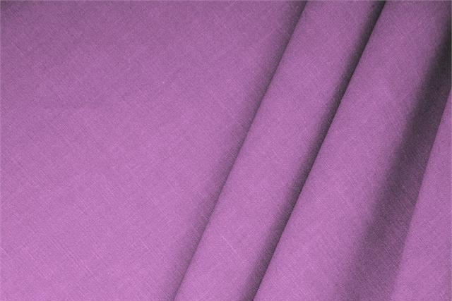 Buy online our clothing and fashion fabric 'Glicine' Purple  Linen Blend, Made in Italy. - new tess