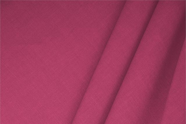 Ciclamino Fuxia Linen, Stretch Linen Blend fabric for dressmaking