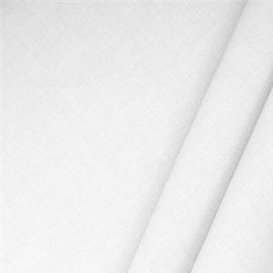 Misto Lino Bianco Ottico - Tessuti per abbigliamento e moda in vendita al metro